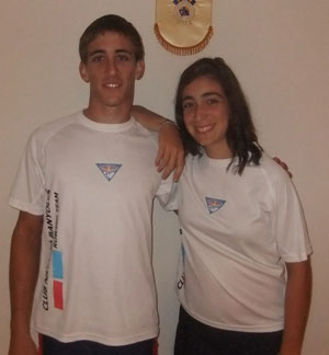 Banyoles' rowers Adrià Mitjavila and Anna Pagès will participate in the Rowing Coupe de la Jeunesse